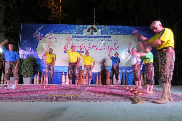 همایش ورزش پهلوانی و زورخانه ای در قزوین برگزار شد