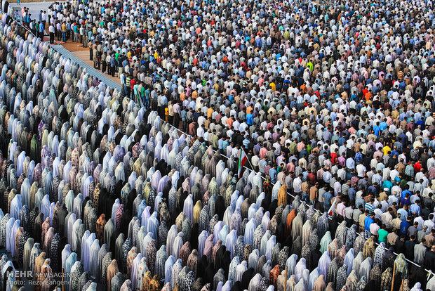 اقامه نماز عید فطر در بیش از ۱۰ نقطه خرمشهر