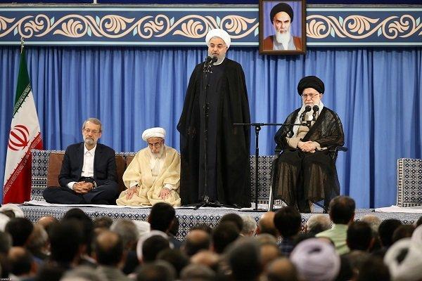 Ruhani: Tüm dünya ABD'nin karşısında durmalı