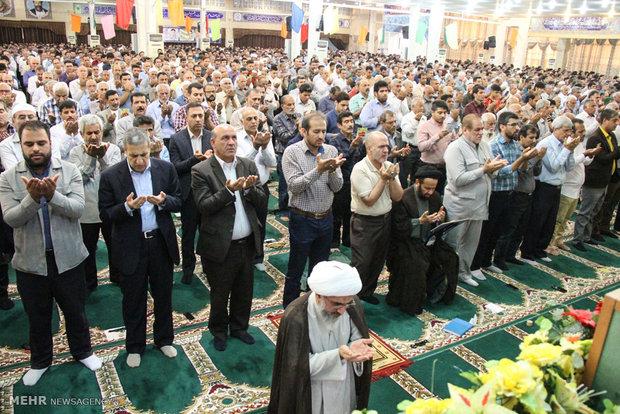 اقامه نماز عید سعید فطر در بوشهر - کیوان عمادی