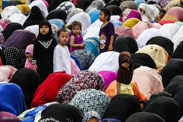 حال و هوای عید سعید فطر در سراسر جهان