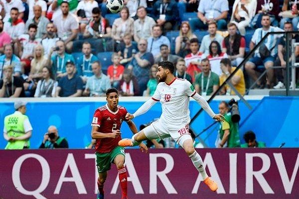 دیدار تیم های ایران و مراکش - جام جهانی روسیه - علیرضا جهانبخش