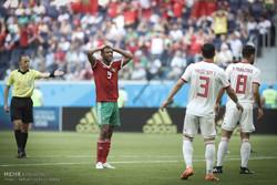 اشکهای بازیکنان و هواداران مراکش/ حمله به پرچم رژیم اشغالگر قدس