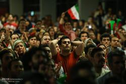 پردیس چار سو علاقہ میں ایرانی ٹیم کی کامیابی پر جشن کا سماں