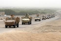 نیروهای ائتلاف عربی به رهبری عربستان