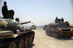 Suriye ordusundan ülkenin güneyinde büyük keşif