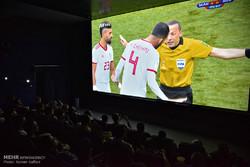 تماشای دیدار تیم های ملی فوتبال ایران و مراکش در مشهد