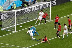 روس میں یوروگوئے نے مصر کو ایک صفر سے شکست دے دی