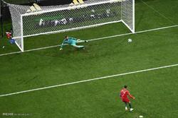 دیدار تیم های ملی فوتبال پرتغال و اسپانیا