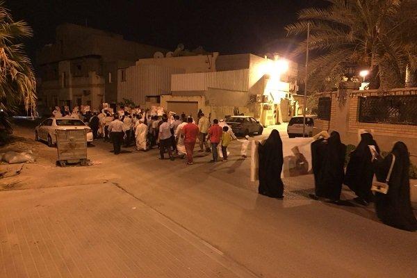 تظاهرات حاشدة تجوب شوارع البحرين ضد النظام الخليفي