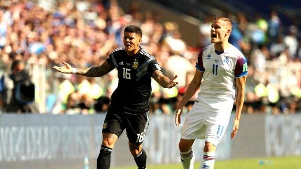 اولین شگفتی جام رقم خورد/توقف آرژانتین مقابل ایسلند