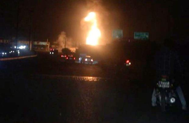 انفجار کپسول های گاز در کمربندی چهاردانگه