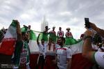 حاشیه های دیدار تیم های فوتبال ایران و مراکش