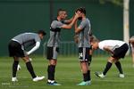 تمرین تیم ملی ایران پس از پیروزی مقابل مراکش