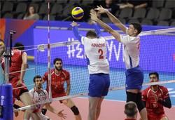 والیبال ایران و لهستان