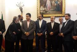 منتخب ارکسترها مهمان سفارت ایران در روسیه شدند