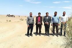 جلوگیری از پیشرفت بیابان در ۲۳ هزار هکتار اراضی شاهرود