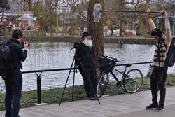 """A scene from """"Mehrabad-Narita"""" by Iranian director Amir Bashti"""