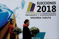 دور دوم انتخابات ریاستجمهوری در کلمبیا