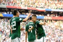 دیدار تیم ملی فوتبال آلمان و مکزیک