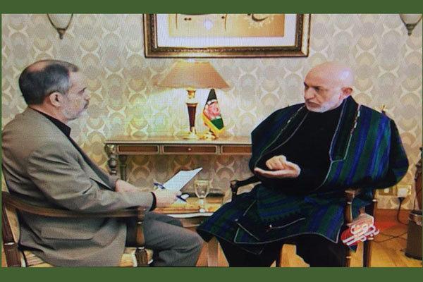 حامد کرزای خیانت آمریکا را در «بدون مرز» فاش کرد