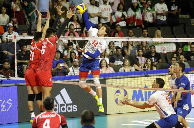 VIDEO: Iran vs Serbia at FIVB Volleyball Nations League