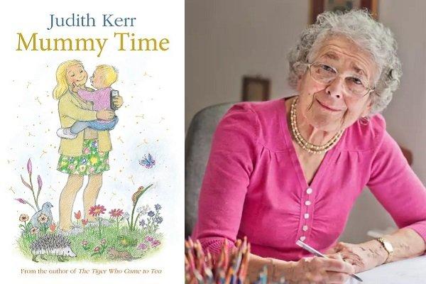 انتشار یک کتاب جدید از خانم نویسنده در ۹۵ سالگی
