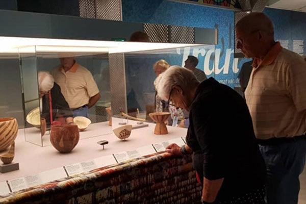 نمایشگاه «ایران؛ مهد تمدن» در موزه درنتز هلند گشایش یافت