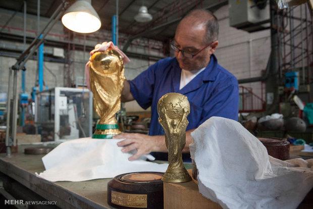 کارگاه ساخت جام جهانی فوتبال