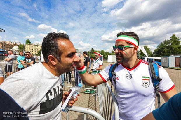 """صحيفة """"أس"""" الاسبانية: 15 الف ايراني سيحضر في ملعب """"قازان"""" في مباراة ايران واسبانيا"""