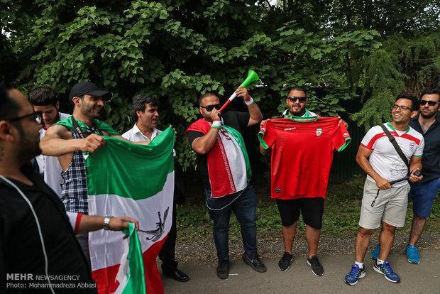 تمارين المنتخب الايراني