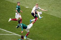 أجمل اللقطات في مباراة ألمانيا والمكسيك
