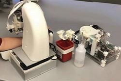ربات آزمایش خون