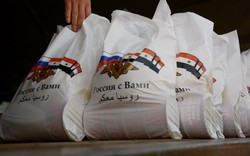 Russia delivers humanitarian aid to residents of Syrian Hama