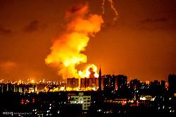 قصف صهيوني وسط قطاع غزة  والمقاومة تردّ بالصواريخ