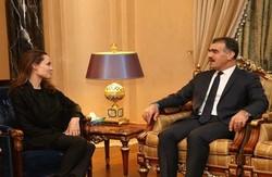 انجلینا جولی در اقلیم کردستان
