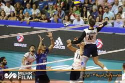 خلاصه والیبال آمریکا ۳ - ایران ۰