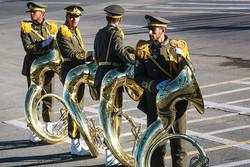 هنرمندان رسته موسیقی نظامی درجه هنری گرفتند