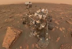 سلفی کاوشگر ناسا از مریخ منتشر شد