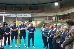 صالحی امیری - اردوی تیم ملی والیبال