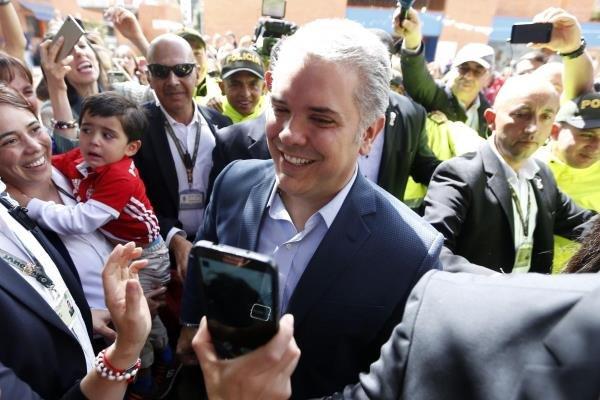 «ایوان دوکه مارکز» به ریاست جمهوری کلمبیا انتخاب شد