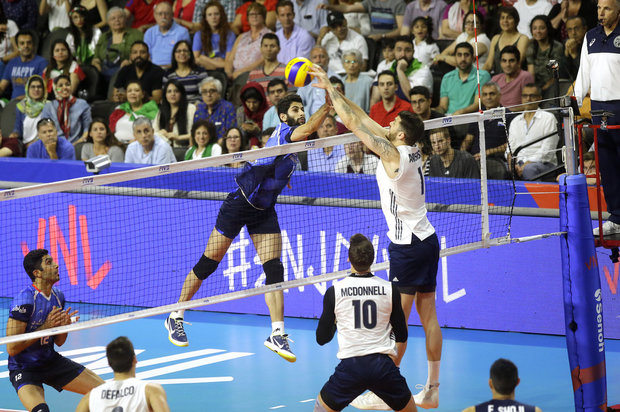 VIDEO: Iran vs US at FIVB Volleyball Nations League