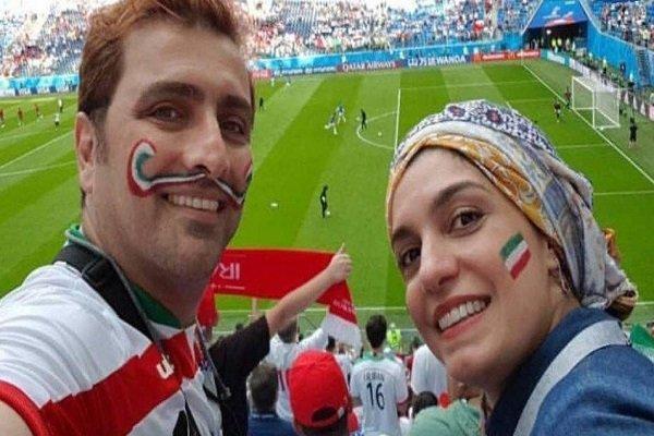 تعاطف النجم السينمائي الايراني للمشجعين المغاربة / فيديو