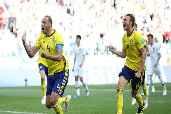 پیروزی سوئد مقابل کره جنوبی با کمک تکنولوژی VAR