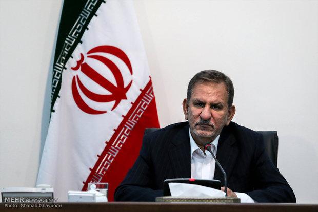 جهانغيري:ايران ستكون بجانب سوريا في مرحلة إعادة إعمارها