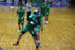 تمرین تیم ملی هندبال ایران