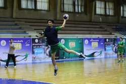 National handball team training session