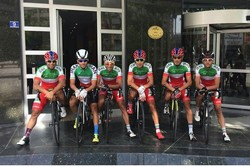 Iran finishes 3rd in cycling tour in Turkey