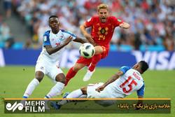 خلاصه بازی بلژیک ۳ - پاناما۰