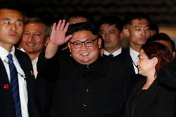 N Korean leader Kim Jong Un visiting China